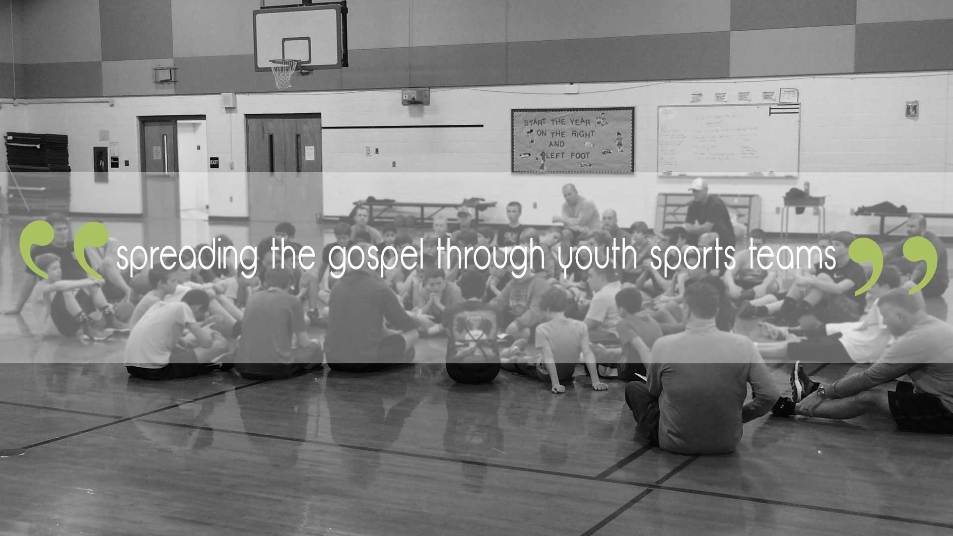 basketball coach leading youth devotionals